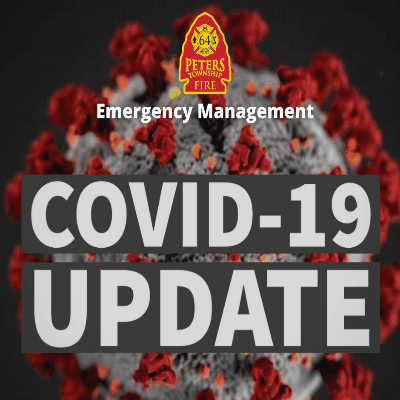COVID-19 Logo with Fire Department Logo
