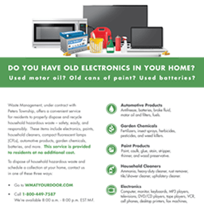 Household Hazardous Waste and Electronic Recycling